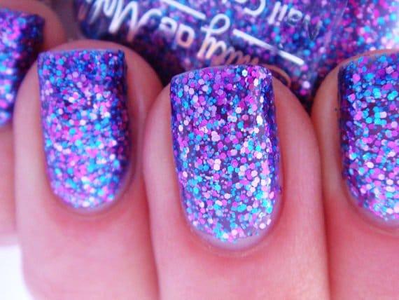 Glitter-Nail