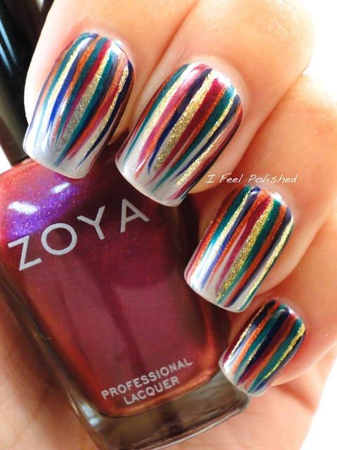 Tutorial e nail art idee primavera 2014 - Diva nails prodotti ...