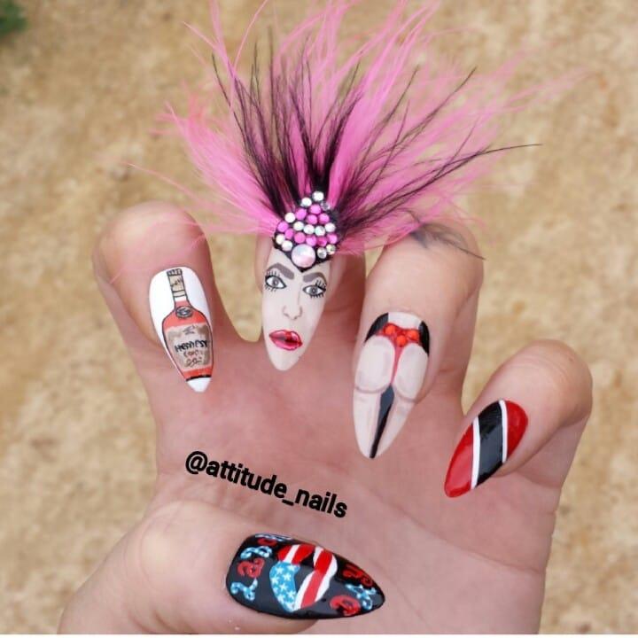 spesso Idee per le vostre unghie di carnevale HV96
