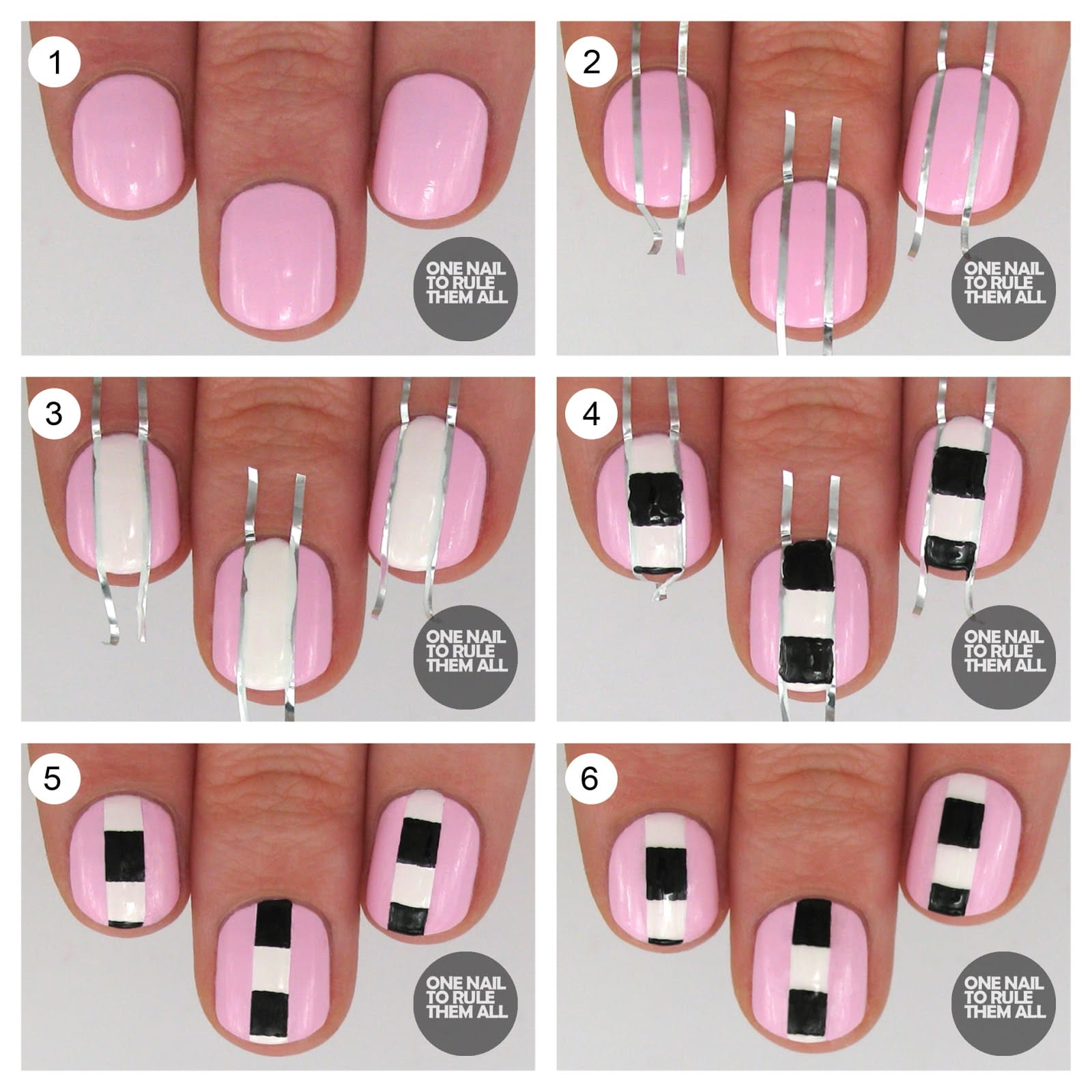 10nail art tutorial 2014