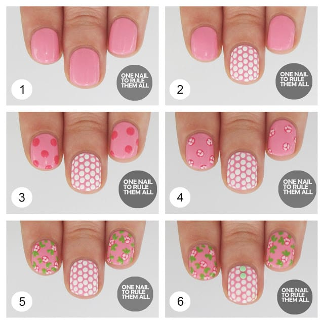 11nail art tutorial 2014