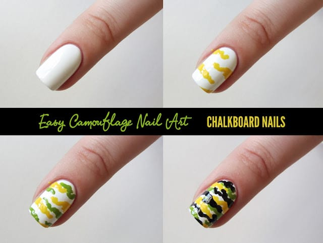 4nail art tutorial 2014