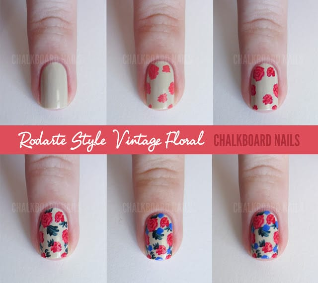 5nail art tutorial 2014