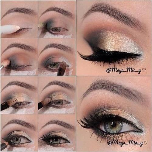 makeup metallic12