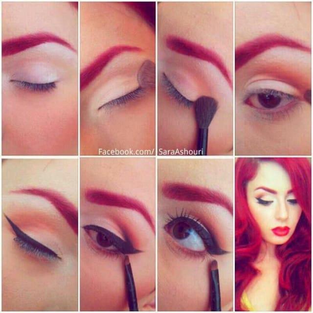 makeup metallic13
