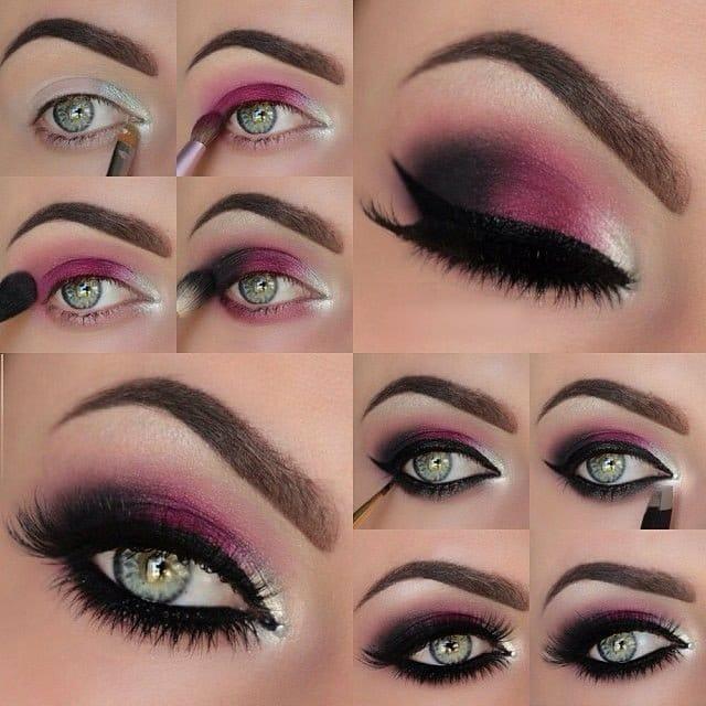 makeup metallic14