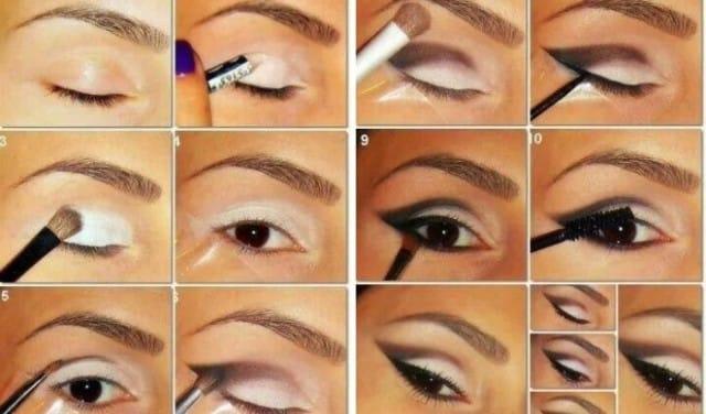 Famoso 15 idee makeup step by step trucco da sera ZT73