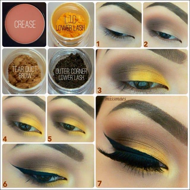 makeup metallic6