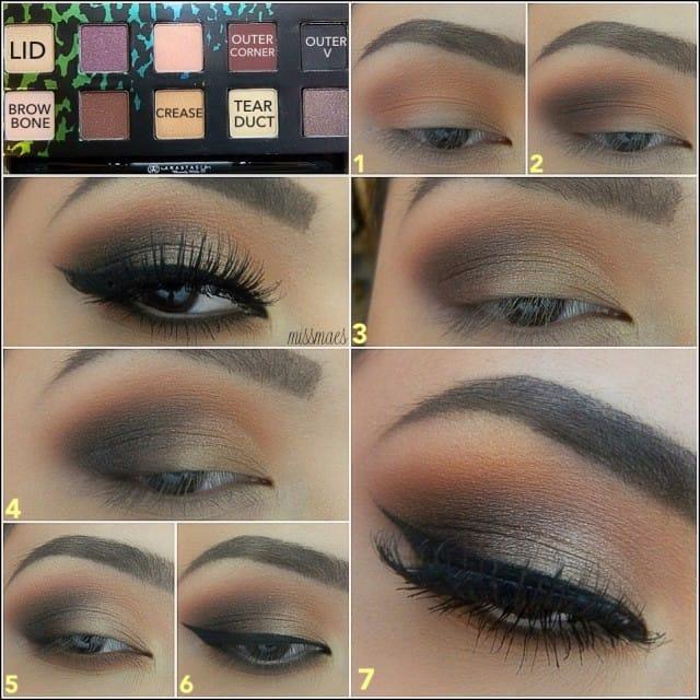 makeup metallic7