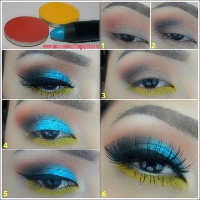 makeup metallic8
