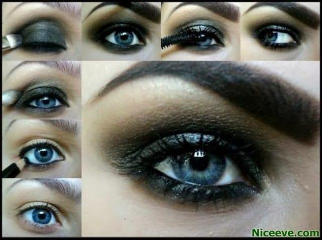 10makeup occhi blu