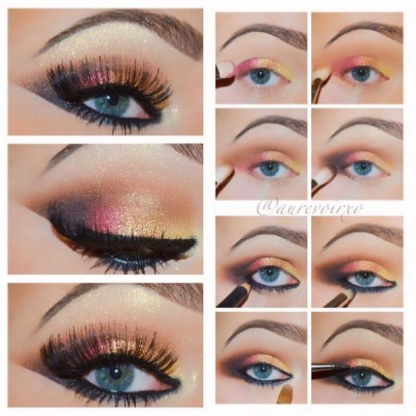 13makeup occhi blu