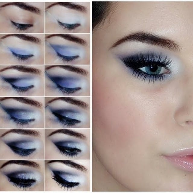 Ben noto 15 make up tutorial per occhi blu WC73