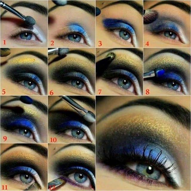 8makeup occhi blu