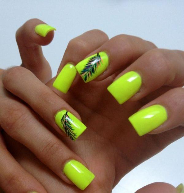 abbastanza 20 idee nail art fluorescenti estate 2014 NW77