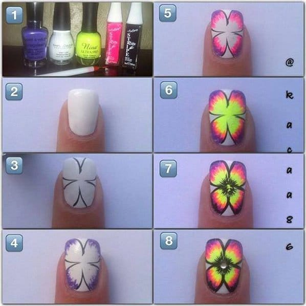 10spring-nail-art-Step-By-Step