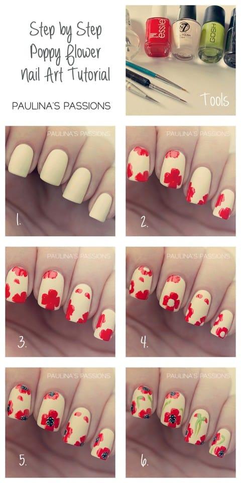 13spring-nail-art-Step-By-Step