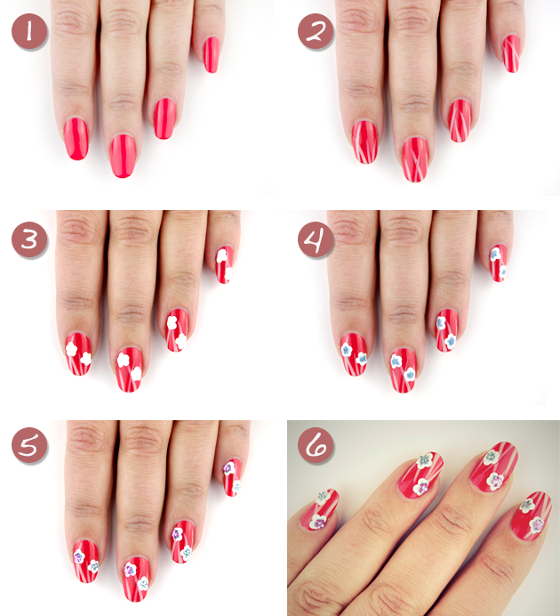 3spring-nail-art-Step-By-Step