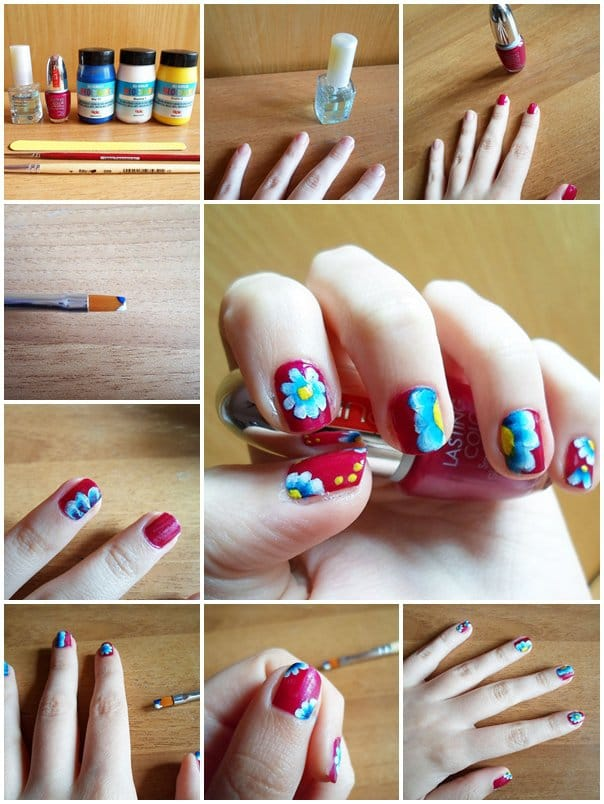 4spring-nail-art-Step-By-Step