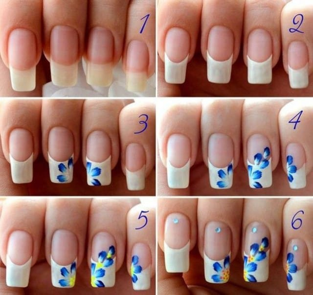 Newspaper nail art step by step nails gallery newspaper nail art step by step hd image prinsesfo Images