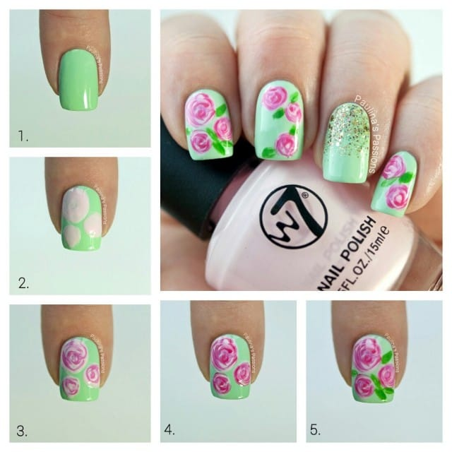 8spring-nail-art-Step-By-Step