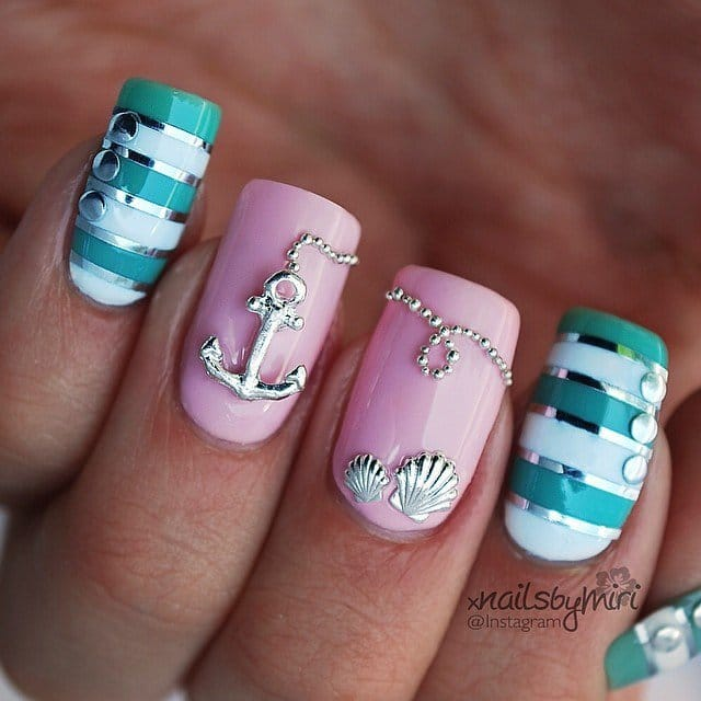 2nautical-nail-art