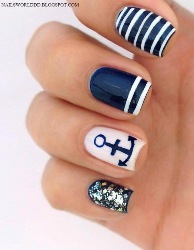 9nautical-nail-art