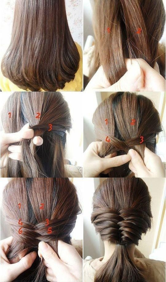 Cute-Fishtail-Braided-Hairstyle-Tutorial