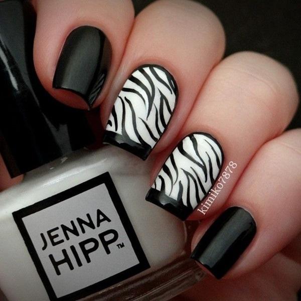 animalier zebra in bianco e nero