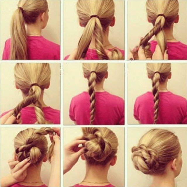 Twisted-Updo-Hairstyle-Tutorial