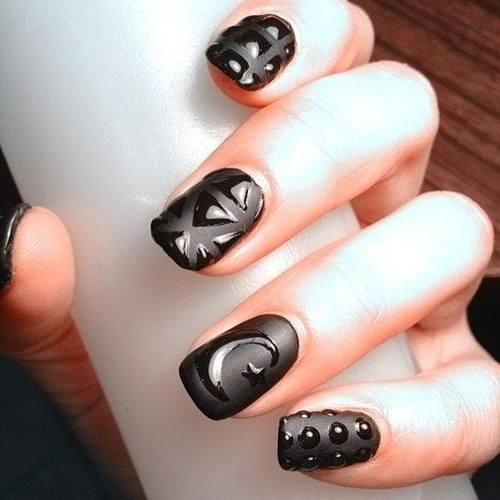 Black Matte: contrasto lucido - opaco e un pò di fantasia