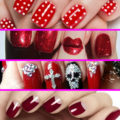 Unghie rosse per tutte! 25 idee di Nail Art per tutti i gusti