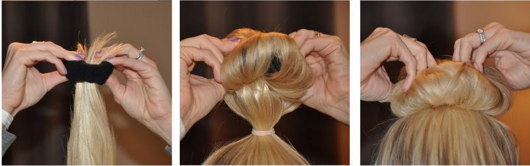 capelli mossi senza piastra: usiamo un calzino