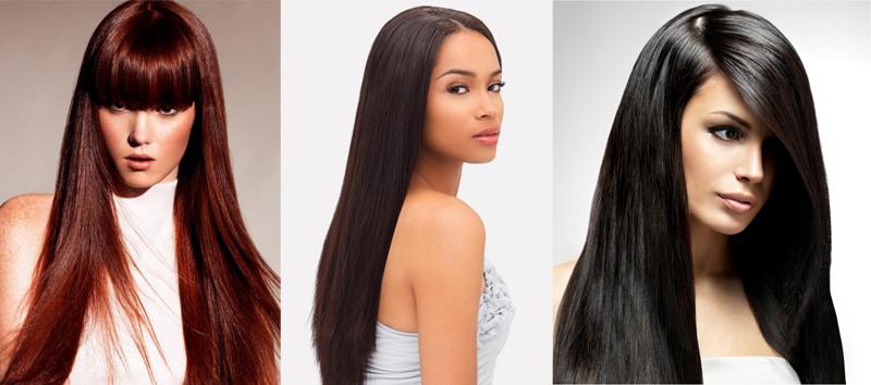 Piastra per capelli lisci: obiettivo capelli luminosi