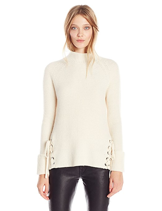 french-connection-freedom-fringe-knits-ls-highnk-felpa-donna